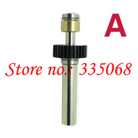 HENG LONG 3889/3889-1 RC tank Leopard 2 A6 1/16 spare parts No.A Long drive shaft 58mm-low steel gear with bearing-Upgrade