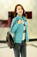 New down jacket female jacket and winter coat women sports leisure coat/winter coat freeshipping