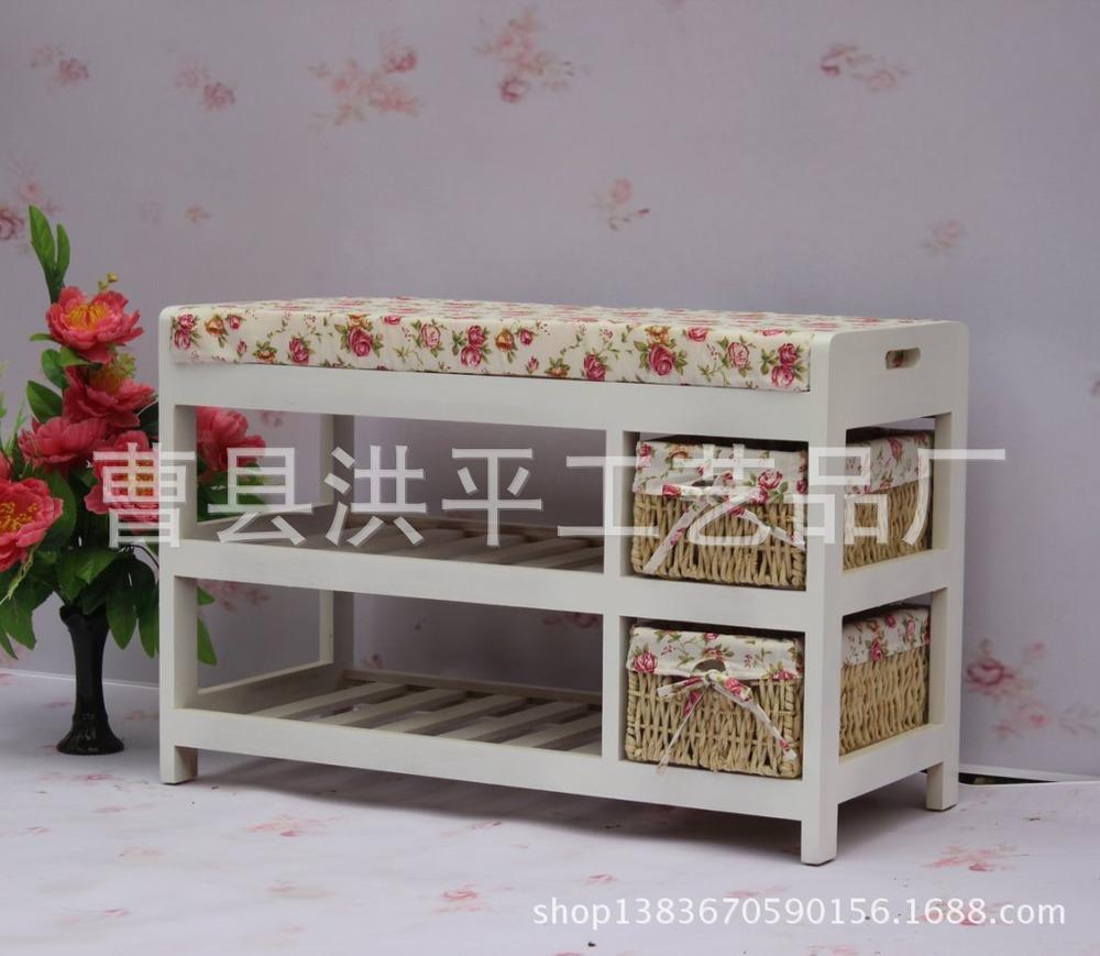 direta da fábrica ~ exportamos coreano bancos mobiliário de jardim ~ de moda estilo de madeira fezes fezes cabeceira mudando seus sapatos(China (Mainland))