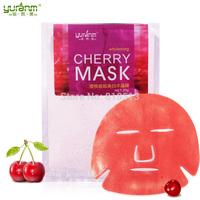 2014 Crystal Mask Mask cherry veneer paste pale soft film print whitening moisturizing skin care products wholesale free shippin
