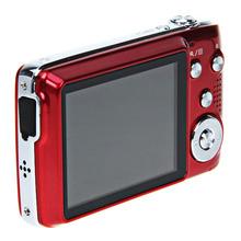 5.0MP CMOS sensor 15.0 mega pixels with 2.7 inch LED Lens 5.5 Digital Camera Red