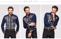 Free shipping Men's Casual shirts Polar fleece warm shirt  Keep warm in winter Single Button