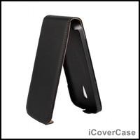 Genuine Leather Flip Cover Case for Motorola Moto G 2014 G2 2nd gen