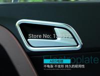 IX25  ABS Chrome Internal Door Handle Cover Trim For Hyundai ix25