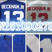 New York Odell Beckham JR Jerseys 13 American football Jerseys Odell Beckham JR Stitched Elite(China (Mainland))