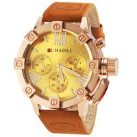 Leather Strap Steel Wrist watch Sports Watches Men Luxury Brand Quartz Wristwatches Casual Watches