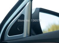 IX25 ABS chrome Front Door Speaker Decorative Frame 2pcs For Hyundai ix25