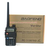 5pcs BAOFENG dualband handy radio UV-5R with 5pcs 5XAA battery case