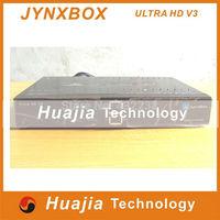 1pc  jynxbox ultra hd v3 North America Satellite Receiver HD Decoder jynxbox v3 ultra hd wifi with jb200 module  HOT SELL