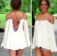 blusas femininas 2015 tops women Blouses blusas women clothing shirt women Solid Color camisas femininas Blouses & Shirts