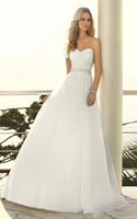 Custom 2014 Style Fashion A-line Organza Wedding Dress