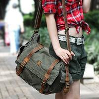 Brand Design ladies canvas Messenger bag shoulder bag outdoor travel bag retro cool Europe school bags