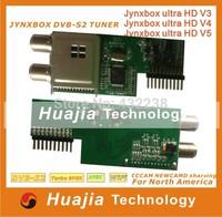 2PCS Newest Jynxbox dvb-s2 Tuner for Jynxbox Ultra HD V3 / V4 / V5 / V6 ,v7digital satellite reciever high quality JB-200 tuner