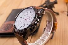 LZ Jewelry Hut WT09 2014 New Fashion Design 5 Colors Leather Strap Men Top Brand Luxury