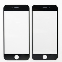 NEW Replacement LCD Front Touch Screen Glass Outer Lens for iphone 6 4.7inch Black/White Front Glass Lens Free Shipping