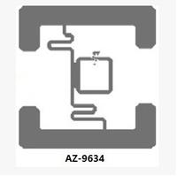 UHF  Wet Inlay Tag H3 chip ISO/IEC 18000-6C  luggage tracking AZ-9634