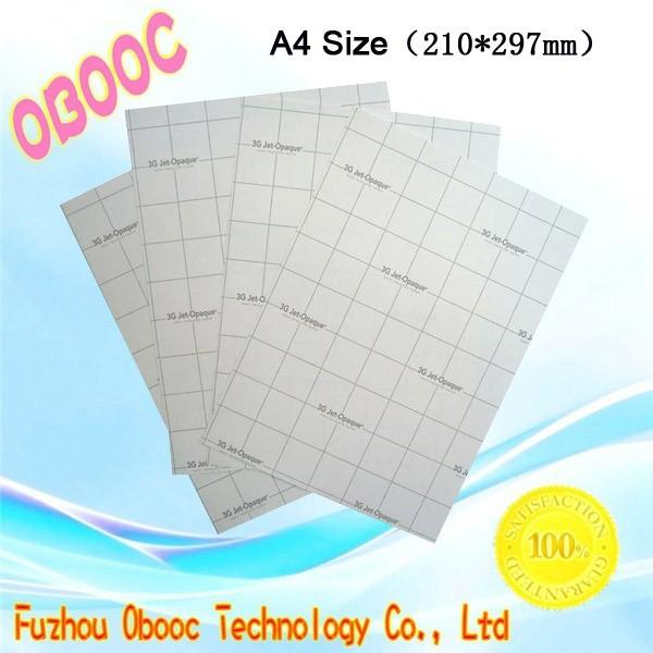 Best Selling! Heat Transfer Paper -Inkjet / Laser Printer -Light & Dark T-Shirt Fabric(China (Mainland))