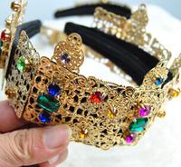 Free shipping retro handmade Baroque aristocratic bride crown headband,hairband fir woman,hair accessories