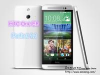 2014 Hot New E8 1:1 For Original HTC One E8 3G Mobile Phone 5'' 720P 13MP Camera 2GB RAM 16GB ROM Android 4.4 Silver/Blue Color