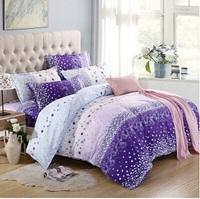 Duvet cover 100% cotton four piece set bedding cotton 100% 1.8 meters bedding single sheet piece set 1.5 meters
