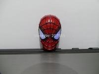 Retail cartoon super hero Shape USB Flash Drive Iron man spider-man luminous pen drive memory stick pendrive 4-32G Free shipping