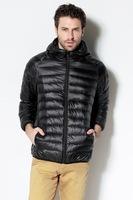2014 Brand Men 90% Duck Down Jacket Plus Size Fashion Winter hooded Jacket Ultra Light Warm Men's Down Coat S-XXXL MT6045