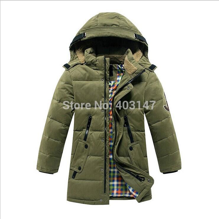 Children Winter Outwear Boys Long Down Coat Reima Teenagers Child Snowsuits Long Jackets for Boy Roupa Infantil Feminino 10-14T(China (Mainland))