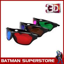 Barato Multi cor complementares Anaglyph óculos 3D terno para todas as cores filmes em 3D(China (Mainland))