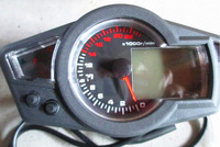 22000rpm Motorcycle LCD Digital Speedometer tachometer ks motorcycle Instruments
