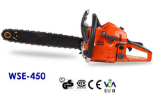 Supply high quality Garden Tools,WSE-450 45CC Gasoline Chainsaw with CE