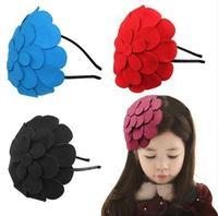 Cute Flower Hair Accessories Fashion Children Hair Band Multi-Color Cute Kids Hair Styling Girl Headband A1345