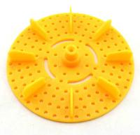 Yellow paddle paddle paddle propeller wheel multifunctional model of creative fun DIY handmade small production