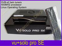 vu solo PRO SE Original Software twin tuner Satellite Receiver Linux 400 MHz CPU Mini Vu solo PRO SE  free shipping