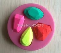 Jewelry Shape Fondant 3D Silicone Mould Cake Decoration Emboss Fondant Chocolate Icing Tools -P127