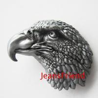 High Quality Classic & Fashion& Vintage antique finish 3D details Eagle Head Western belt buckle