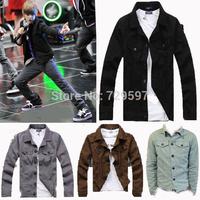 2014  Justin Bieber mens jackets and coats Long-sleeve Fashion casual brand  jacket men outwear men coat 7 colors