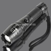 New Arrival 238B-T6 3 files Flashlight DC-DC 1000 Lumens Waterproof cree led Light glare Flshlight