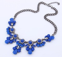 2014 New Trendy Jewelry Statement Necklace&Pendants Candy color short clavicle necklace New Charm chokers necklaces for women