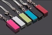 Revolving 8g Mini USB Flash Drive Multi-colored Business gifts USB Flash pen drive flash memory stick + Drop shipping