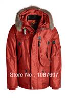 High Quality Down Jacket RIGHT HAND MAN Winter Puffer Coat Hot Brand Red Short Parka Fur Outwear Parkas Gobi Kodiak Down 629