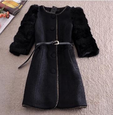 Женская одежда из шерсти Women coat Md LY1767 2014 coat