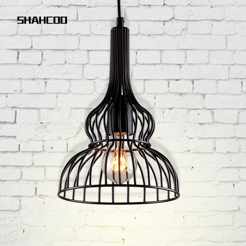 [ SHAHCOO ] American Village Loft Restaurant Bar chandelier vintage industrial art designer lamps(China (Mainland))