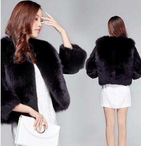купить Женская одежда из меха Other , 3/4 fuax 4359 недорого