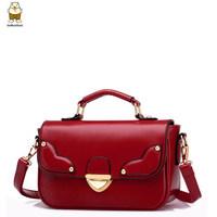 Handbag high fashion bolsas femininas 2014 brand pu leather vintage rivet shoulder-bags designer small cute women messenger bags