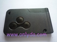 Megane 3 button Remote key  with 433 mhz  high quality