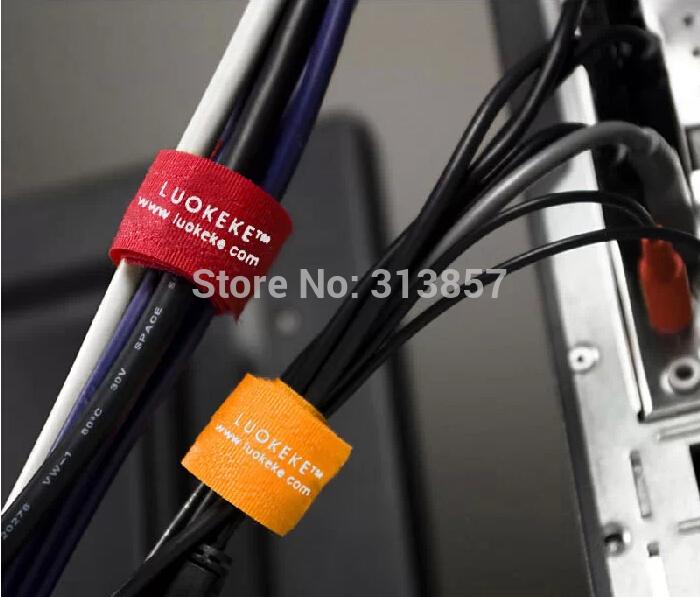 Кабельная стяжка Cable ties USB velcro 2. * 18.5cm mantra 4846