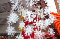 2packs/lot Christmas snowflake  Christmas decoration supplies for party snowflake XUTAO