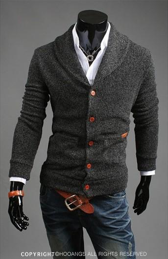 Hitz Мужская v-образным вырезом свитер свитера,