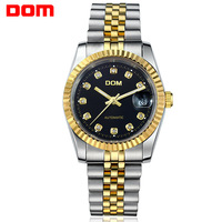 Dom M87 watches men luxury brand Military Watch dive 200m business casual relogio masculino full stainless steel Wristwatch
