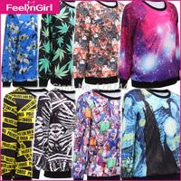Drop Shipping !Newest style Elegant Styles 3D Hoodies Women/Men Hot Hoddy Printing Long Sleeve Sweatshirt Adventure time 3
